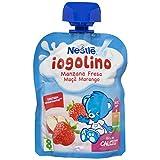Nestlé Yogolino Bolsitas Iogolino Manzana Fresa A Partir de 8 Meses, 90g