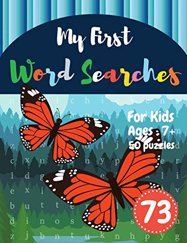 My First Word Searches: 50 Large Print Word Search Puzzles wordsearch books for kids to Keep Your Ch