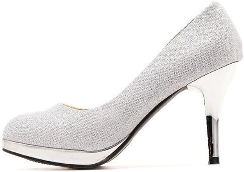 AGoGo Princess Sparkle Crystal Gem Rhinestone Glitter Formal Pumps, Wedding shoes Dress Heels
