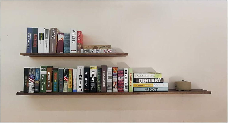 Log Solid Wood Word Partition Red Oak Black Walnut Partition Rack Shelf (color   D)