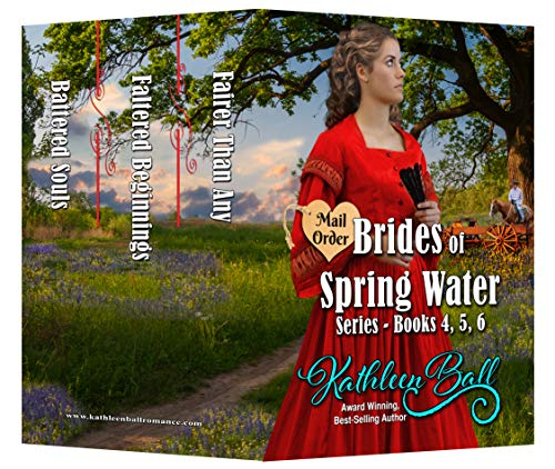 Mail Order Brides of Spring Water Series Books 4-6: Christian Historical Western Romance (English Edition)
