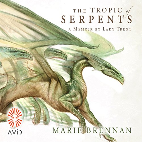 The Tropic of Serpents                   By:                                                                                                                                 Marie Brennan                               Narrated by:                                                                                                                                 Kate Reading                      Length: 10 hrs and 38 mins     6 ratings     Overall 4.5