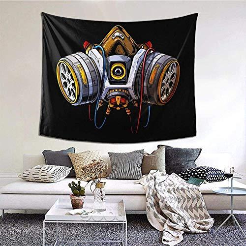 YeeATZ Gecko Want to Read Bookworm Bookworm Wall Tapestry Anime Tapestry Wall Art Wall Tapestry Home Decor for Living Room Bedroom Dorm 152 x 60 pulgadas