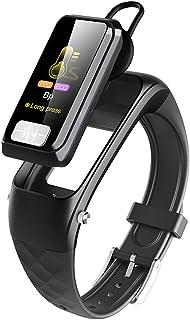 Rastreador De Actividad Multifuncional Pulsera Portátil Inteligente Para Auriculares, Reloj De Fitness Premium Monitor De Ritmo Cardíaco Podómetro Sleep Tracker Impermeable Android E IOS