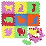 LittleTom Alfombras Puzzle para Bebé Alfombrilla Niños Suelo Goma EVA Animales