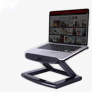 Soporte del ordenador portátil, el ángulo y la altura ajustable libremente portátil soporte del soporte de escritorio plegable del radiador elevación estante vertical, soporte del ordenador portátil d