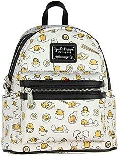 Loungefly Gudetama The Lazy Egg All Over Print Mini Backpack