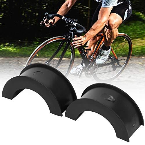 SALUTUYA Junta de conversión, Accesorio de Manillar de Ciclismo, Resistente al Calor, 10 Piezas, para Soporte de teléfono de Bicicleta(Type B)