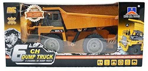 RC Baufahrzeug kaufen Baufahrzeug Bild 1: GYD RC ferngesteuerter Kipplader Baufahrzeug, 3 Kanal, mit Akku Spielzeug Spiel Trecker Bagger Ferngesteuert mit LED und SOUND NEU*