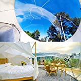 Grist CC Burbuja Inflable Transparente al Aire Libre Tienda Bubble House Quedarse en Casa de Familia Patio Decorativo