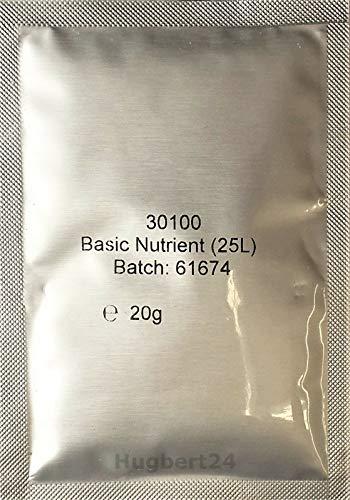 Hugbert Grundnährstoff Basic Nährstoff Hefenahrung für Wein gären Selbstbrauen, 10 Stück