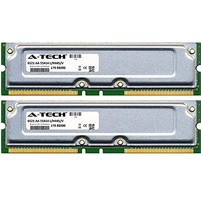 1GB KIT (2 x 512MB) for Gateway 700 Series 700C (RDRAM) 700L2 (RDRAM) 700S Ltd 700X (RDRAM) 700XL (RDRAM). RIMM RD Non-ECC 800-40 800MHZ 40ns RAM Memory. Genuine A-Tech Brand.