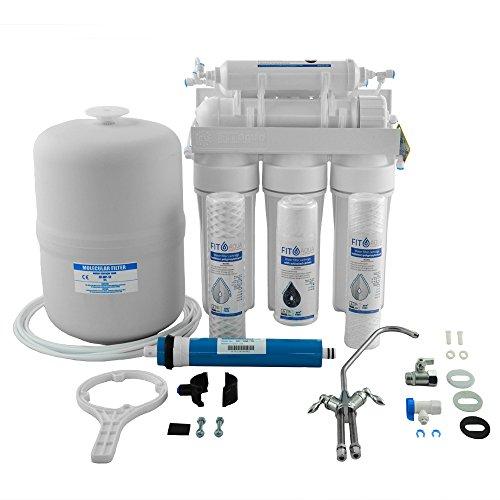 Fit aqua ARO-6 Häusliche sechsstufige RO Wasserfilter Komplettset original Made in EU