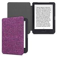 kwmobile 対応: Tolino Shine 3 用 ケース - 布 電子書籍カバー - オートスリープ reader 保護ケース