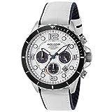 [エンジェルクローバー] 腕時計 TIME Craft Diver TCD45SWH-WH メンズ ホワイト