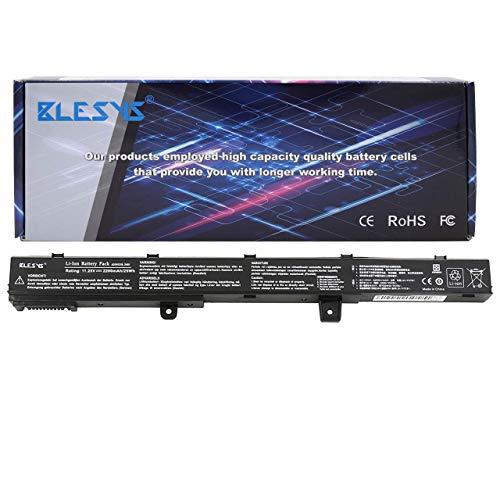 BLESYS A31N1319 A31LJ21 A31L04G Compatible con batería de Laptop ASUS X451C X451CA X451MA X551 X551C X551CA X551M X551MA F551M F551MA F551MAV D550M D550MA(11.25V NO Funciona con 14.4V)