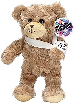 Plushies Huggable Animal Toys Broken Arm Get Well Teddy Bear 8.5 inches