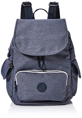 Kipling Damen City Pack S Rucksack Schwarz (Charcoal)
