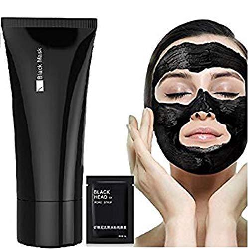 Boolavard removedor de la espinilla de limpieza profunda acné mascarilla exfoliante Negro + Tiras de poro