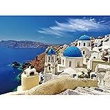 Coolzon Jigsaw Puzzle 1000 Piezas Puzzles, Educational Game para Adolescentes Adultos Niños Entretenimiento(Mar Egeo)
