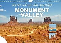 Erlebe mit mir das gewaltige Monument Valley (Wandkalender 2022 DIN A4 quer): Das Monument Valley ist eine Ebene auf dem Colorado-Plateau in Utha. (Monatskalender, 14 Seiten )