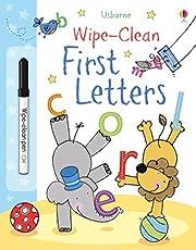 First letters. Wipe-clean. Ediz. a colori. Con penna speciale (Usborne English Readers)