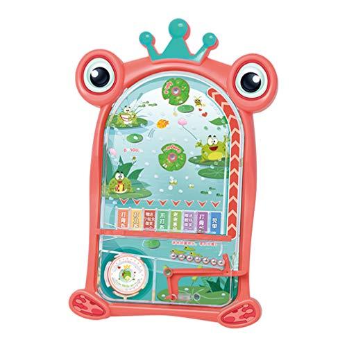 Toyvian Mini Pinball Brinquedo Animal Jogo de Pinball Jogo Educacional de Mesa de Natal para Festa de Natal Com Brindes para Crianças