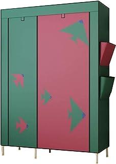 ZZYE Penderie Tissu Armoire de Garde-Robe, Toile de Placard Vêtements Pliable Rangement Portable Rangement Portable Organi...