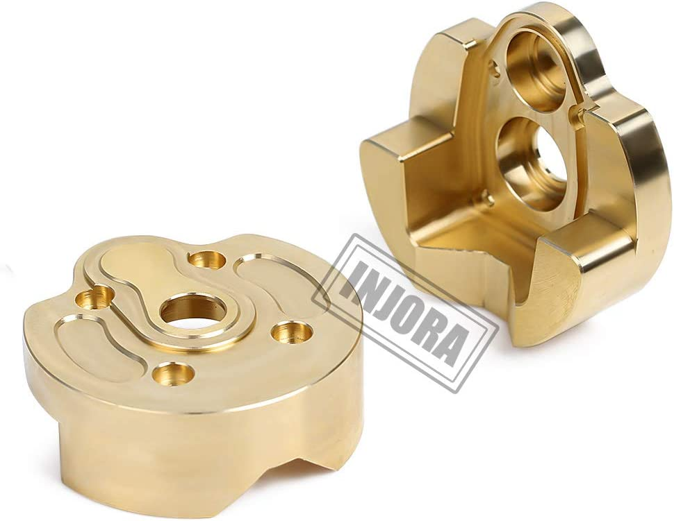 Brass Steering Knuckle Kit For 1//10 RC Car Crawler Axial SCX10 III AXI03007 New