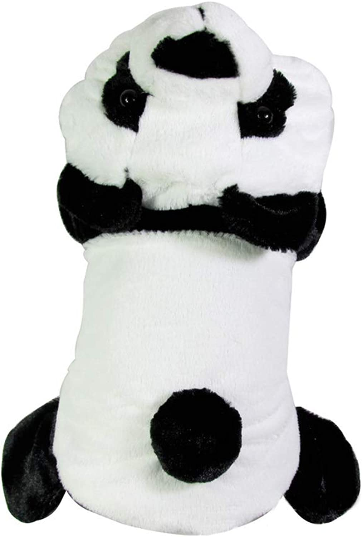 Cat Dog Costume Jumpsuit Dog Clothes Panda Plush Fabric