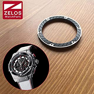 Pukido 3in1 carbon fibre watch bezel isnert for Hublot HUB king power 48mm F1 automatic watch case 703.ZM.1123 parts tools