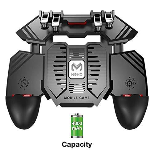 GTJXEY Gamepad, Neuer Spielehelfer AK66 MEMO Handy-Spielegriff Upgrade AK77 für PUBG Sechs-Finger-All-In-One-Controller-Spiel Gamepad L1 R1,B