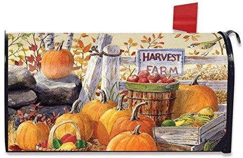 WenNuNa oogst boerderij herfst magnetische brievenbus Cover pompoenen appels standaard ontworpen door Yerkes