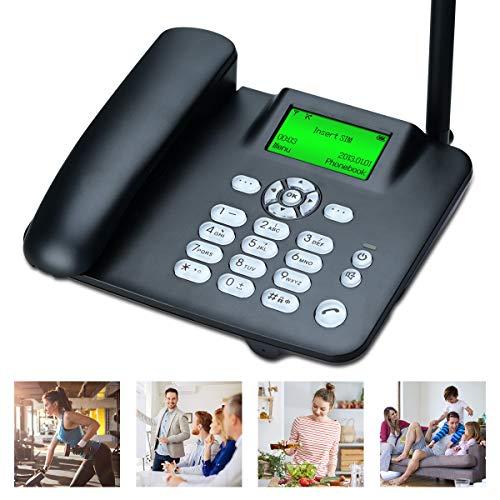 Lychee Tarjeta SIM Cuatribanda gsm Teléfono Fijo Pare tu Of