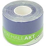 New-HALE(ニューハレ) テーピングテープ ロールタイプ ひじ ひざ 関節 筋肉 サポート AKT Colors パープル (5cm×5m) 731539