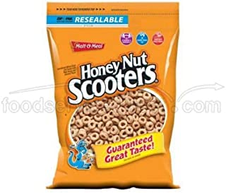 Honey Nut Scooters Cold Cereal, 39 Ounce -- 6 per case.