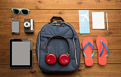 JVC HA-S30BT-B-E Bluetooth On-Ear-Kopfhörer mit kompakter Bauweise, schwarz