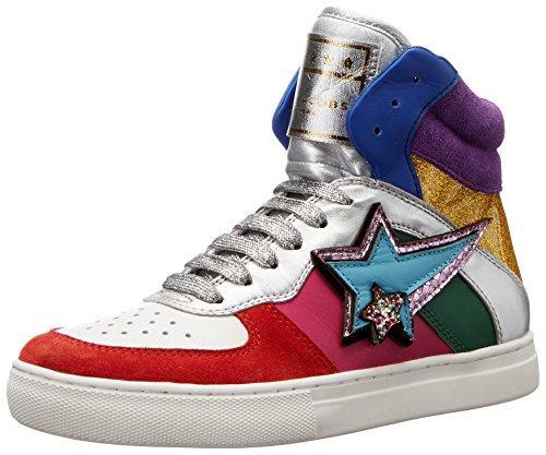 Marc Jacobs Women's Eclipse High Top Fashion Sneaker, Rainbow Multi, 35 EU/5 M US