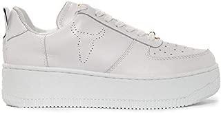 Windsor Smith Luxury Fashion Womens WSPRACERRWHT White Sneakers | Season Permanent