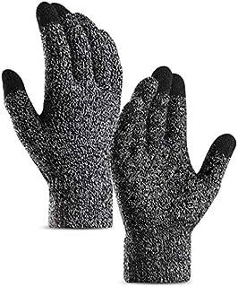 Fingervantar med touchfunktion, Svart/Vit melerad