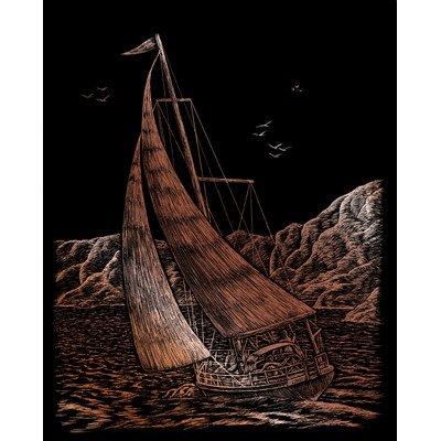 Sailing Art Engraving [Set of 2]