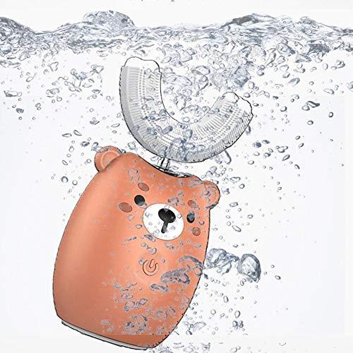 Juman634 Cepillo de Dientes eléctrico para niños de Dibujos Animados de Limpieza...