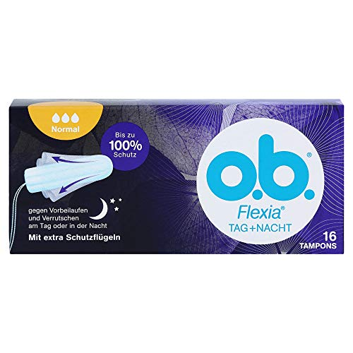 O.B. Tampons Flexia normal, 16 St