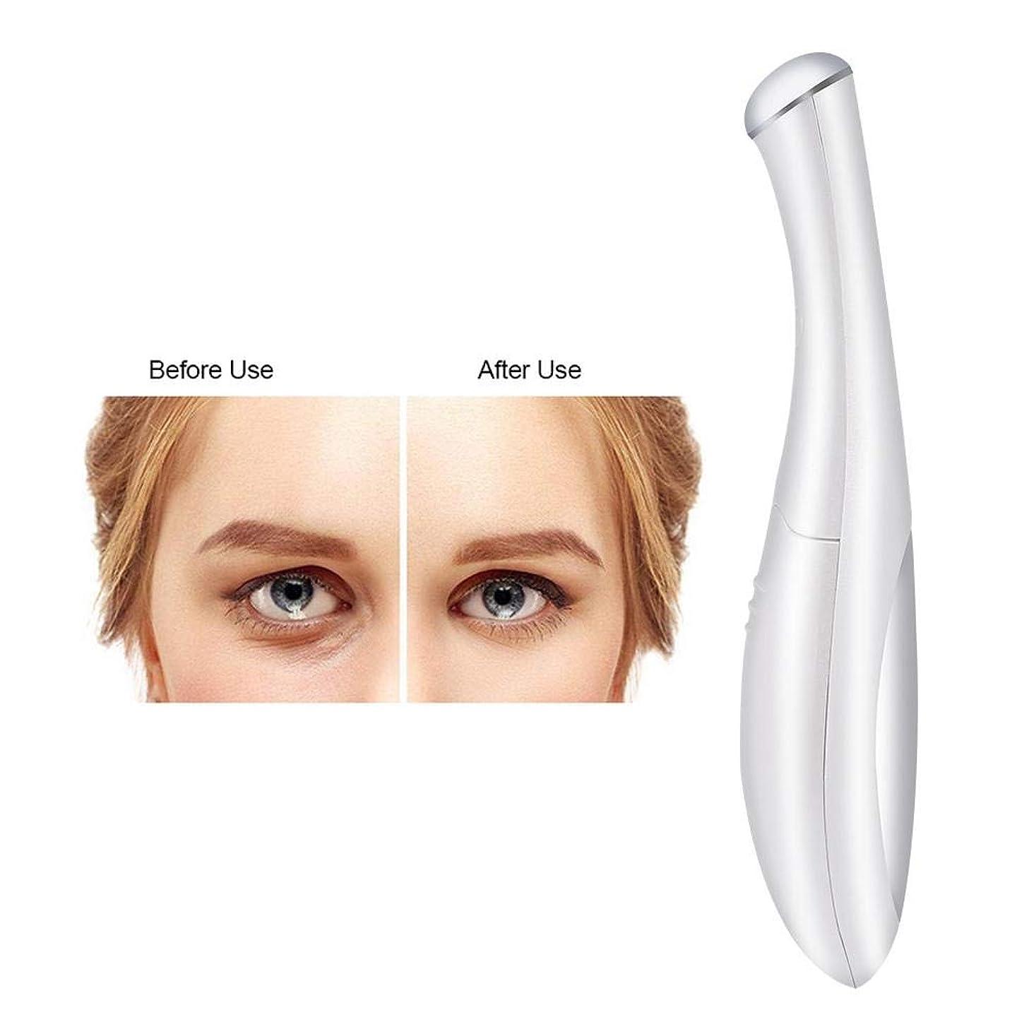 口実一貫したコスト目のしわの取り外しのマッサージャー、電池式イオンEMSの振動美の心配用具