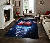 Star Wars Stormtrooper Rug Non Slip Floor Carpet,Area Rug, Modern Carpet 3x5 4x6 5x8 ft Vstars Decor (3x5ft)