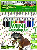 Dinosaurios - Mini libro con lápices de colores: Vuelta al cole