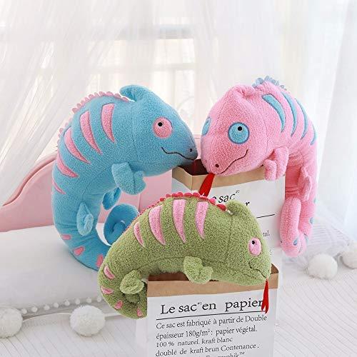 Knuffel speelgoed 45cmschattig simulatie hagedis pluche gevuld speelgoed zachte kameleon dier thuis accessoires schattig dier pop kind cadeau