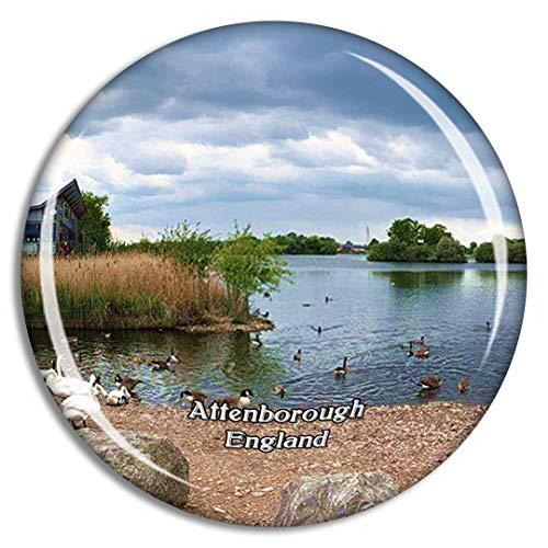 Weekino Attenborough Nature Centre UK England Fridge Magnet Travel Gift Souvenir Collection 3D Crystal Glass Sticker