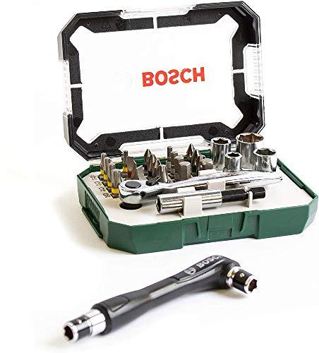 Bosch 2607017393 2607017393 Set mit 26 + 1 Uds Atornillar: Display