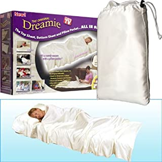 Zoom TV The Original Dreamie All in One Sheet and Pillow Pocket
